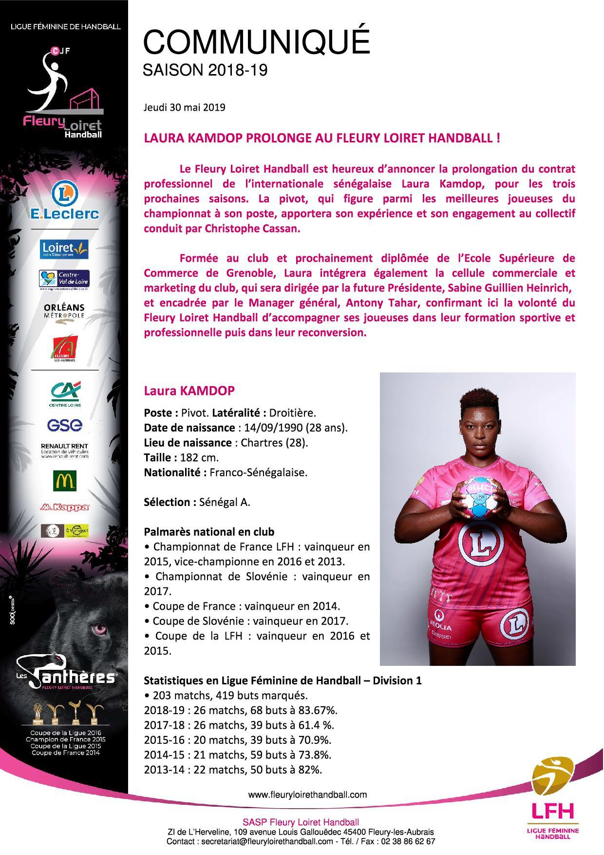 Communiqué Fleury Loiret Handball - Jeudi 30 mai 2019 - Communiqué Fleury Loiret Handball - Jeudi 30 mai 20191.jpg