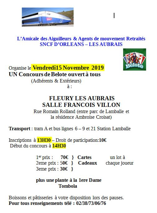 Capture  oncours de belote de L'A.A.A.M.R SNCF D'Orléans - Les Aubrais 2019 (15.11.2019).JPG