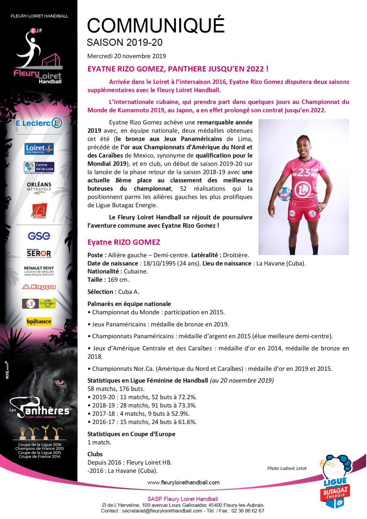 Aout 2015 - Communiqué Fleury Loiret Handball - Mercredi 20 novembre 2019.jpg