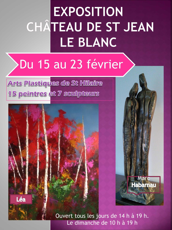 Affiche Arts Plast. St Hilaire 2020 St Jean le Blanc 1 Light2.jpg