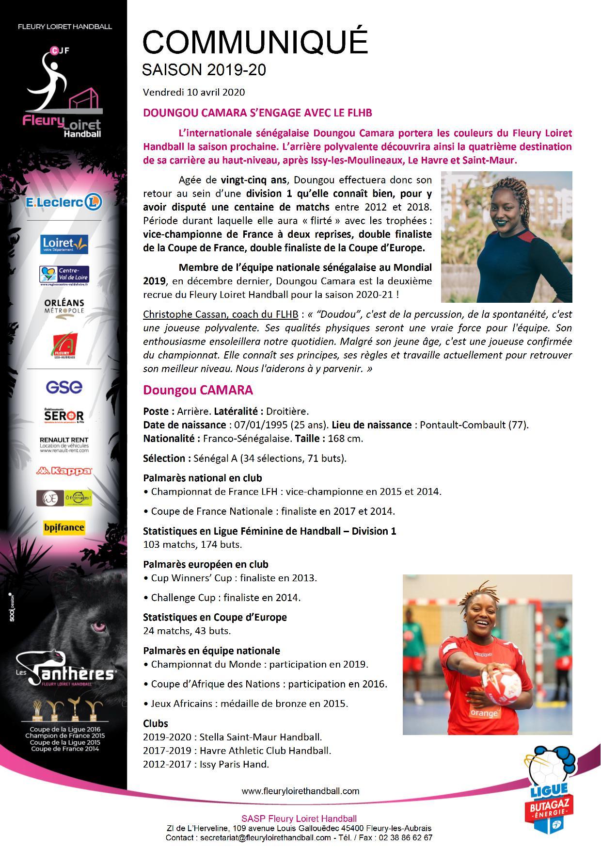 Communiqué Fleury Loiret Handball - Vendredi 10 avril 2020.jpg