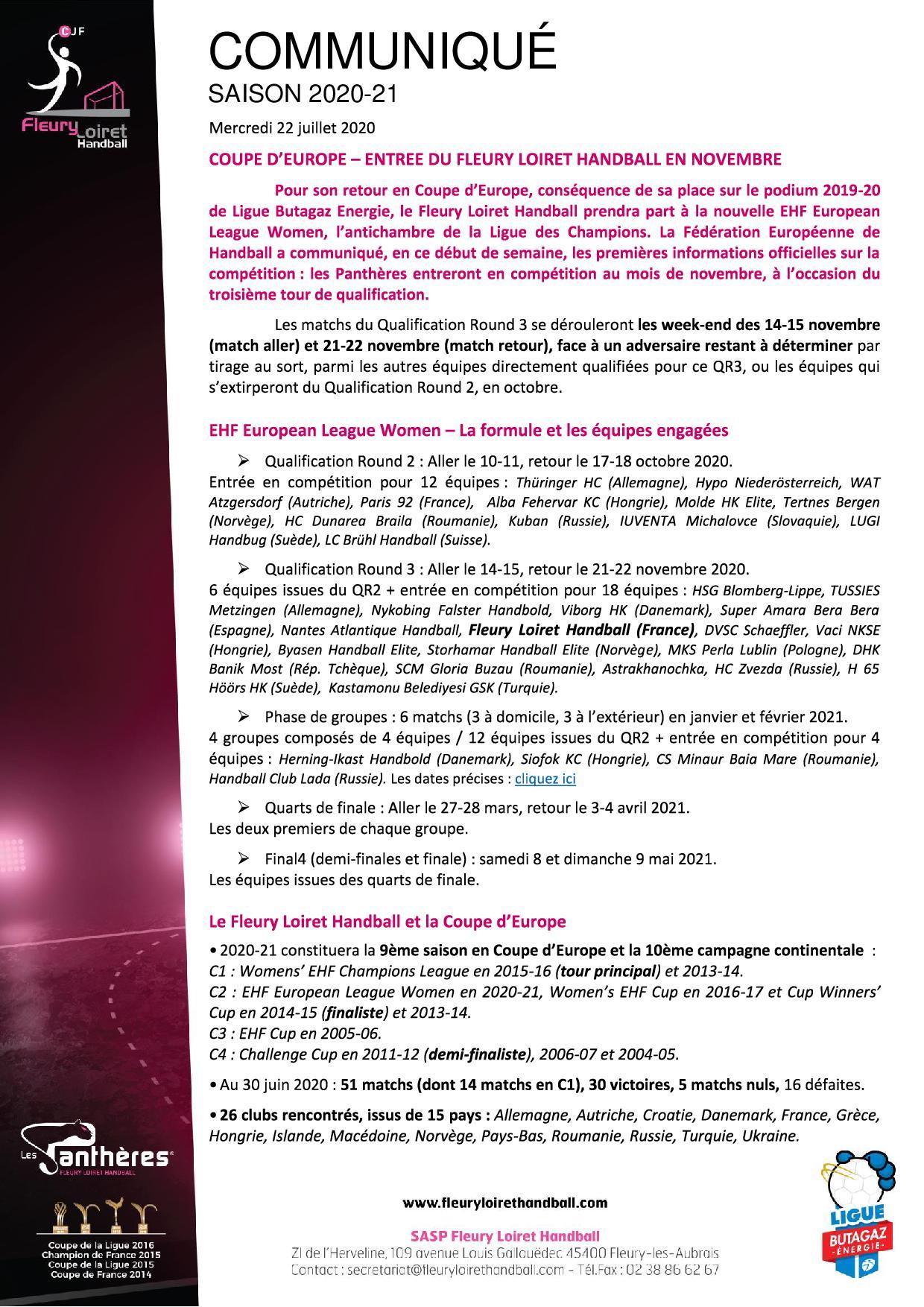 Communiqué Fleury Loiret Handball - Mercredi 22 juillet 2020.jpg