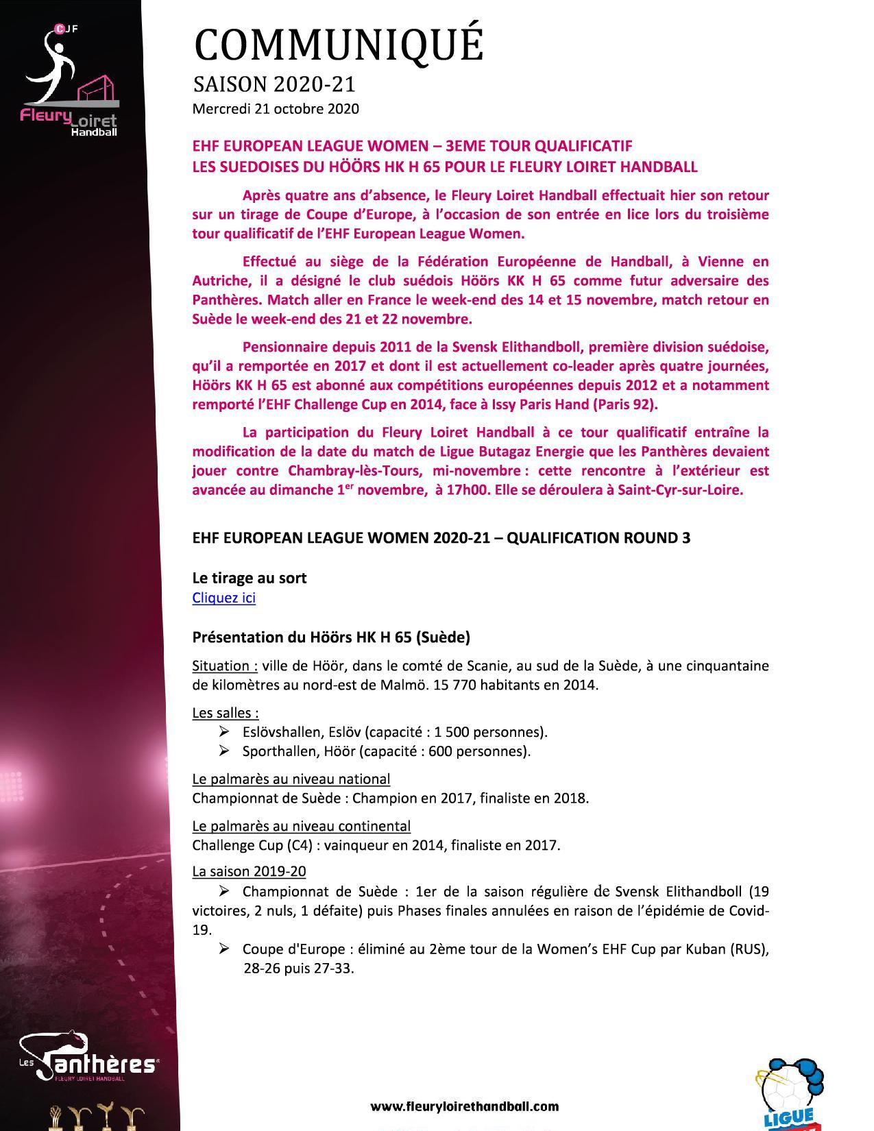 Communiqué Fleury Loiret Handball - Mercredi 21 octobre 2020.jpg