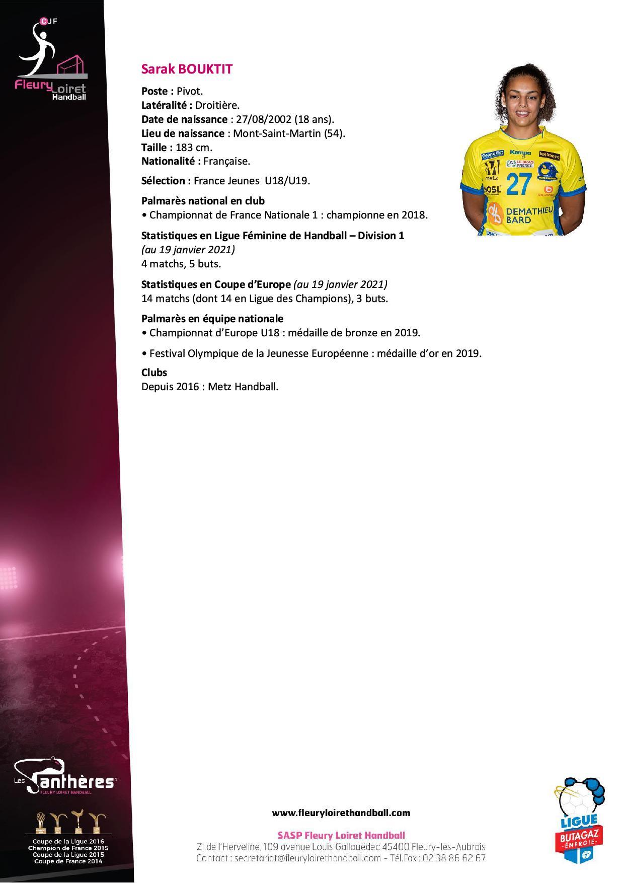 Communiqué Fleury Loiret Handball - Mercredi 20 janvier 2021 N° 22.jpg
