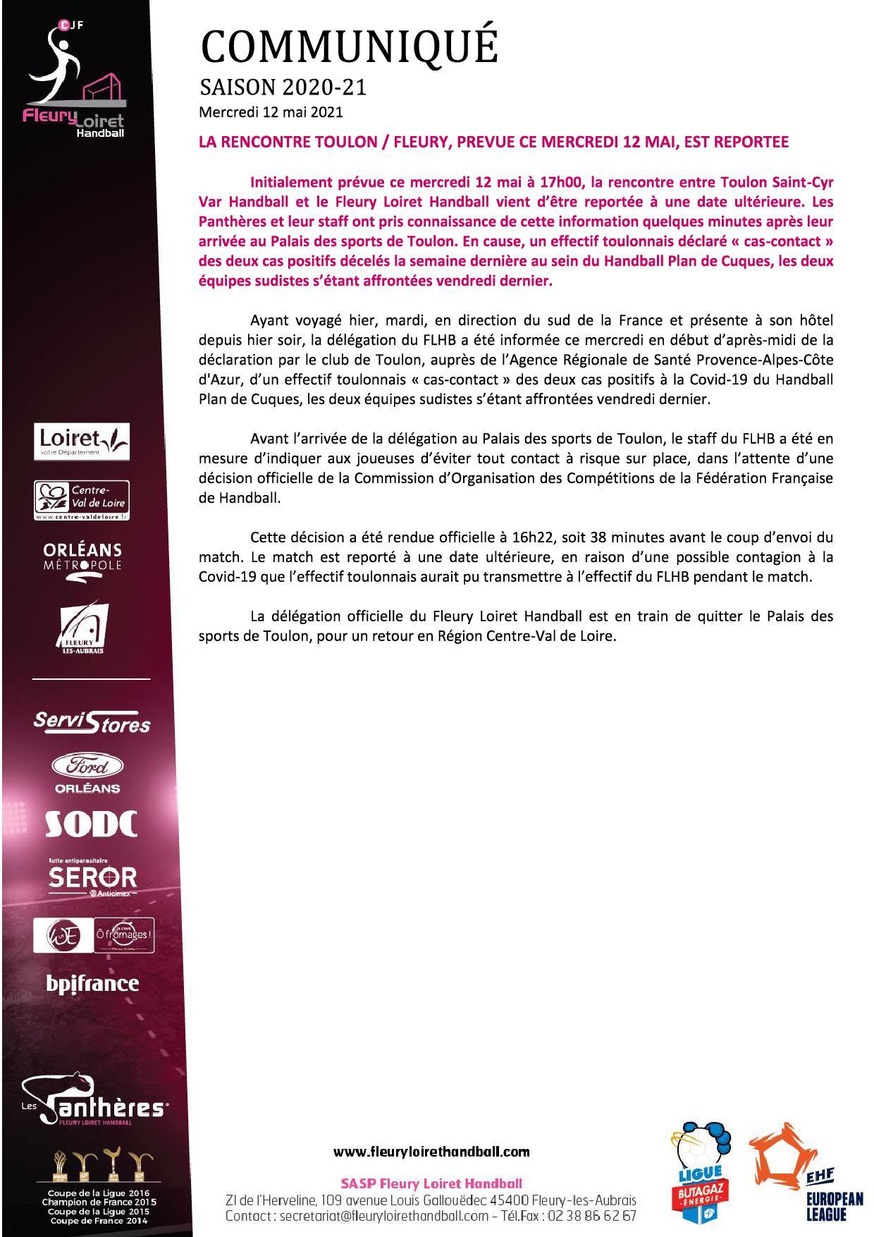 Communiqué Fleury Loiret Handball - Mercredi 12 mai 2021.jpg