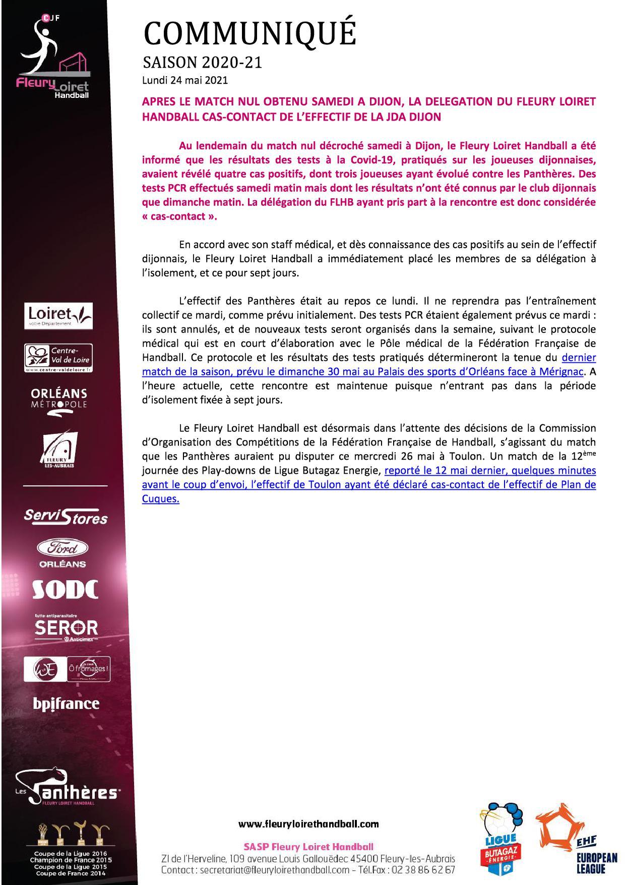 Communiqué Fleury Loiret Handball - Lundi 24 mai 2021.jpg