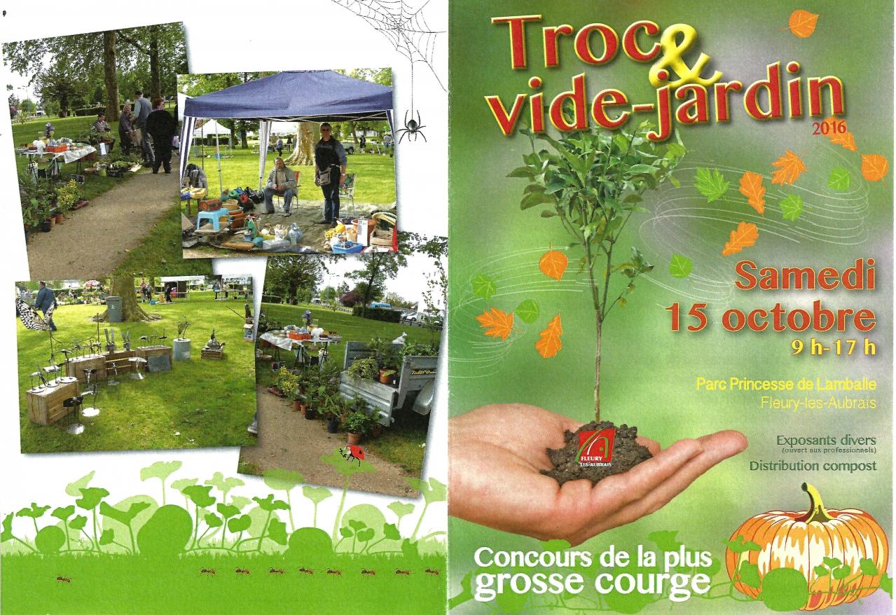La page d 39 infos fleuryssoises infos fleuryssoises for Vide jardin 2016 la garnache