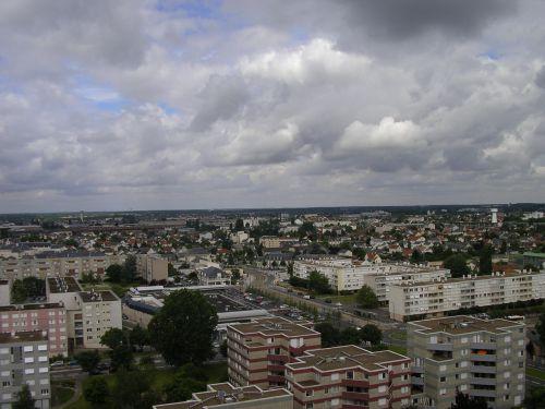 La Ville de FLEURY LES AUBRAIS vu de HAUT!.....