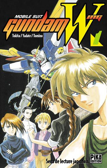 Tome 1 Mobile Suit Gundam Wing