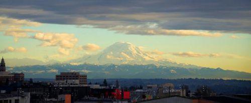 Mont Rainier, Chaine des Cascades, Etat de Washington, Etats - Unis