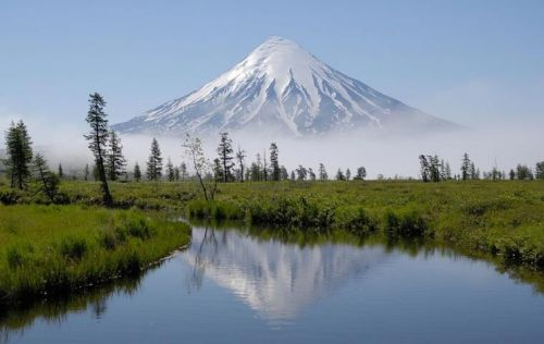 Volcan Kronotsky, Kamchatka, Russie