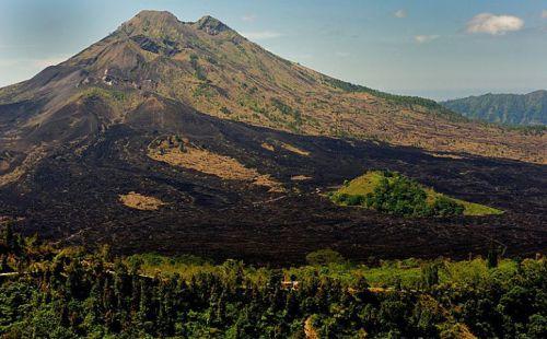 Volcan Batur, île de Bali, Indonésie