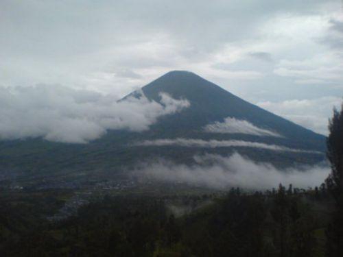 Volcan Sundoro, Java, Indonésie