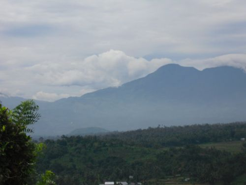 Volcan Talang, Sumatra, Indonésie