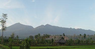 Volcan Rinjani, île Lombok, Indonésie