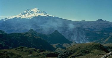 Volcan Chacana, Equateur