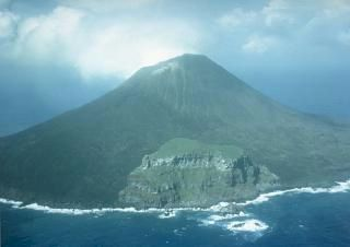 Volcan Uracas/Farallon de Pajaros aux îles Mariannes