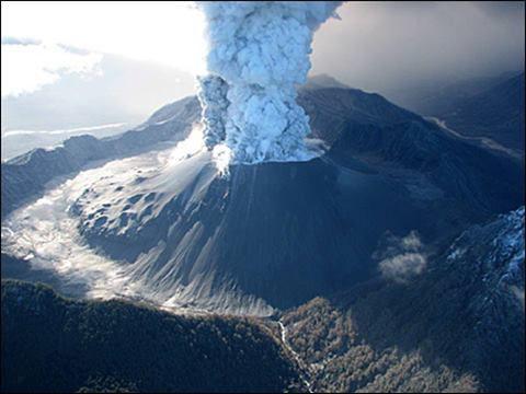 Volcan Chaiten, Chili, éruption de 2008