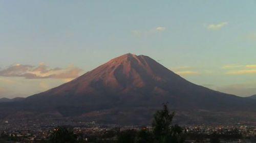 Volcan Misti au Pérou