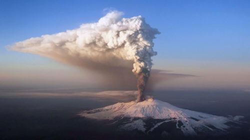 Etna en janvier 2015
