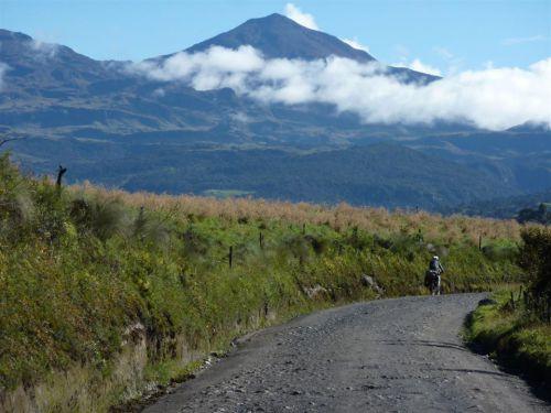 Volcan Puracé en Colombie