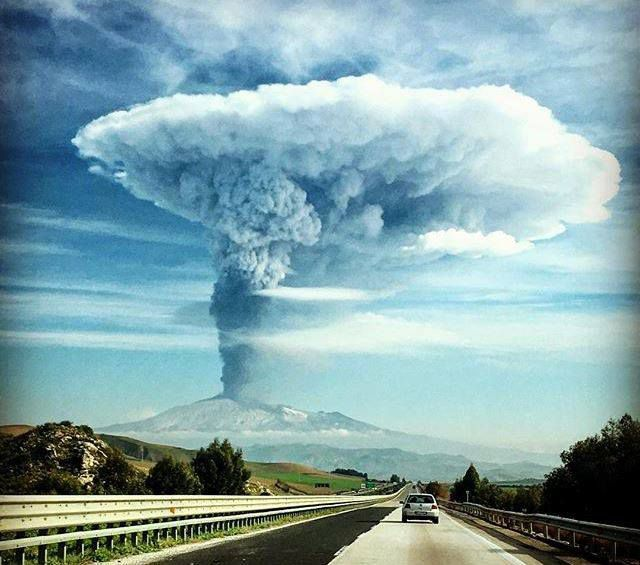 Etna le 04 décembre 2015 (Sicile)