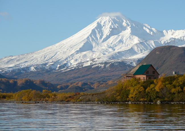 Volcan Kambalny, Russie (Kamchatka)