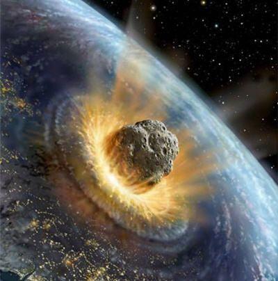 Type Impacte - Astéroïde (periode d'impacte)