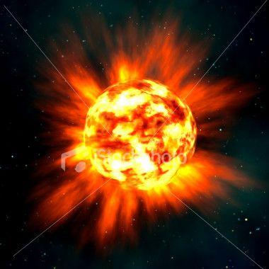 Type Explosion - SuperNova [instant de l'explosion]