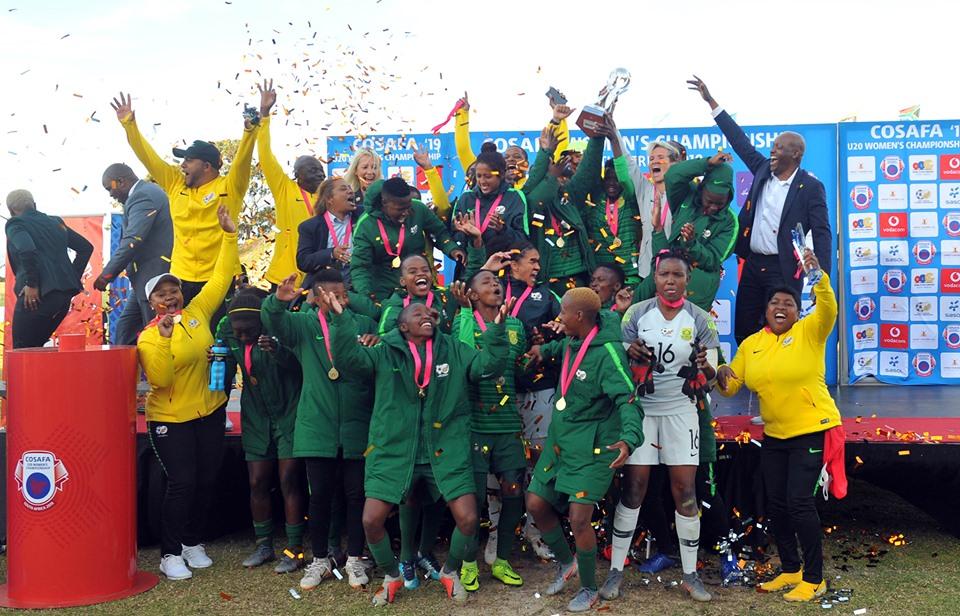 AFRIQUE DU SUD avc les trophées