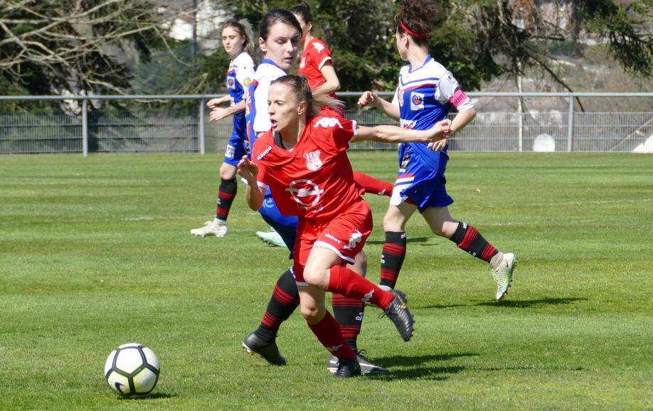 3 buts pour Sarah Magnier
