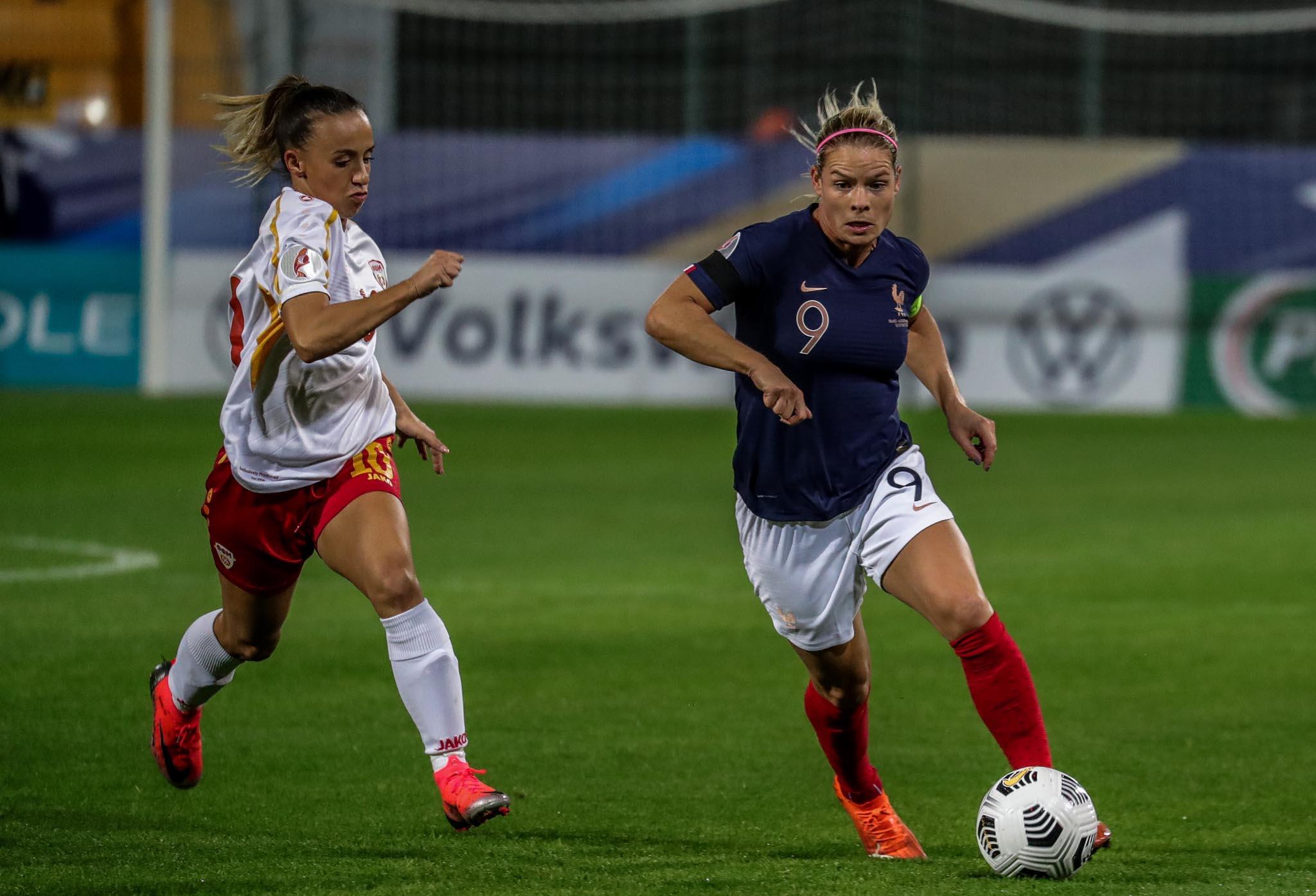 4 buts pour Eugénie Le Sommer