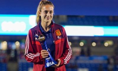 Alexia PUTELLAS (Espagne) meilleure joueuse