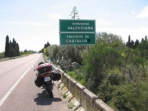 panneau Communidad Valenciana