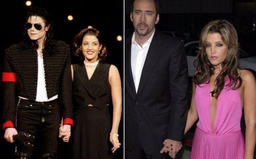 Avant d'etre marié à Michael Jackson Lisa Marie a était marié pendant un an avec l'acteur Nicolas Cage