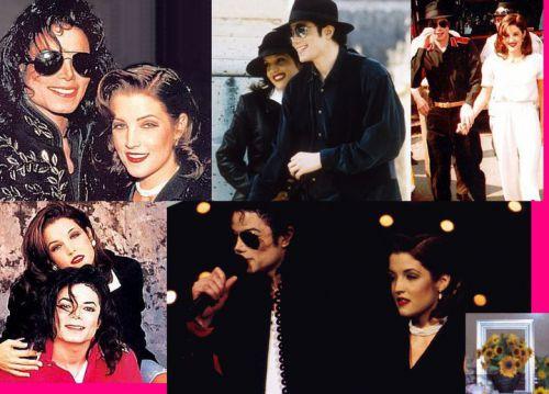 Michael Jackson et Lisa Marie Presley