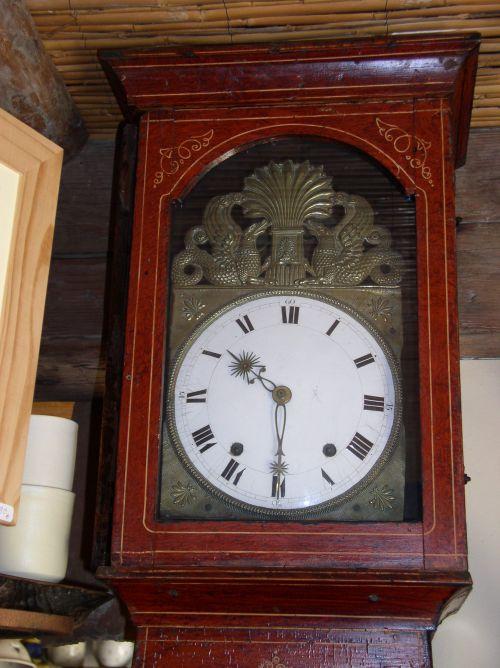 Horloge comtoise Charles X , 2200 euros