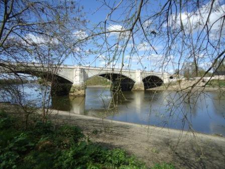 Chiswik Bridge the end