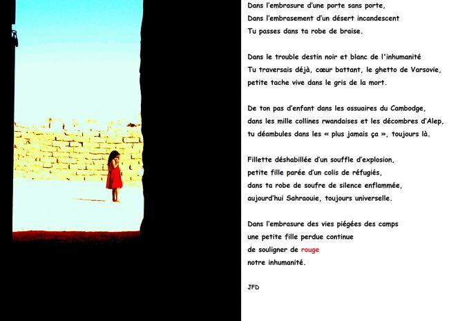 la robe rouge par Jean François D.