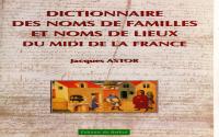 Noms de Familles et Noms de Lieux