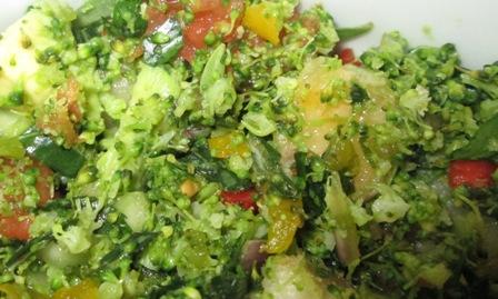 taboulé vert oeufs mollets (4).JPG