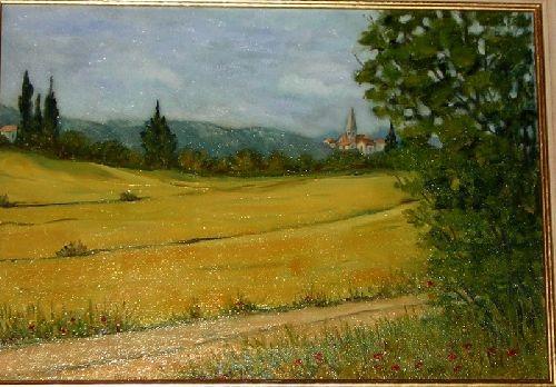 vue du coté des Charentes
