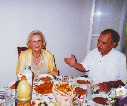 Un   repas   avec    Simone  mon ancienne  institutrice
