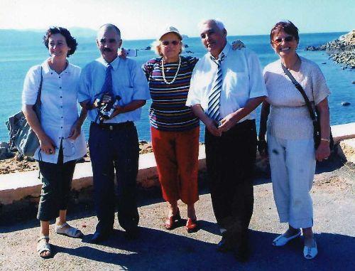 Photo  souvenir  à  la  Baie  Ouest