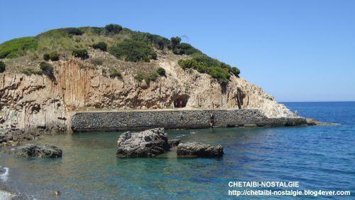 Vue  presqu'ile  ancien port  Fontaine Romaine