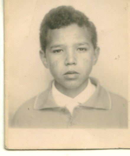 Abdallah  en   1965   à  l'age de 13 ans