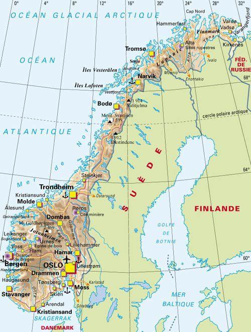 Carte Norvege Cap Nord.Norvege Lofoten Laponie Et Cap Nord Juillet 2012