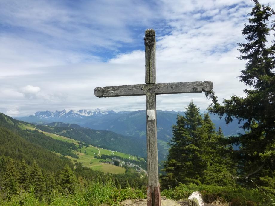 la croix de coste et le mont bisanne 2 aout avec Micou (16).JPG
