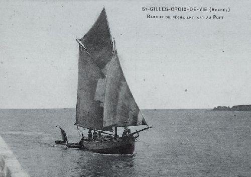 Barque pontée