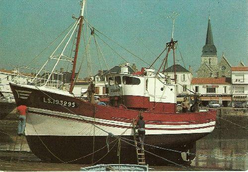 chalutier  vers 1980   Paradis de l'Océan